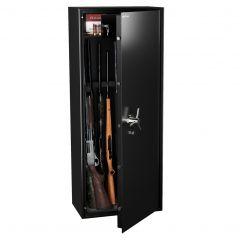 Armoire 10 fusils + coffret interne - Serrure à clé - HARTMANN WT 5010