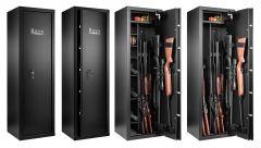 Armoire 9 fusils avec coffre interne - Serrure à clé - RIETTI CR2215X