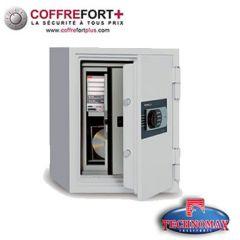 Coffre fort ignifuge - Serrure à clé - 070-SDBK