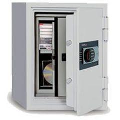 Coffre fort ignifuge - Serrure à clé -125-SDBK