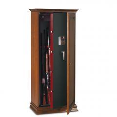 Armoire 5 fusils + coffre interne - Serrure électronique - TECHNOMAX TCE/5L
