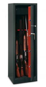 Armoire 10 fusils + coffre interne - Serrure à clé - TECHNOMAX TCH/10