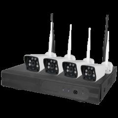 Kit de vidéosurveillance - Nivian - KIT41 4CAM 5M - 1TB