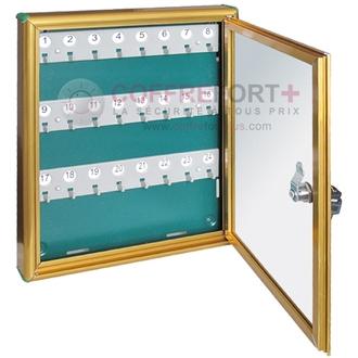 Tableaux laiton 24 clés DOMUS - BCHPC-24/B