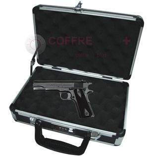 Valise arme de poing - Serrure à combinaison CPP01