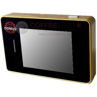 Judas de porte numérique intelligent - Coloris or - DOMUS SE01G