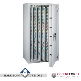 Armoire pour clés - Serrure électronique HARTMANN - Clé Protect 3060