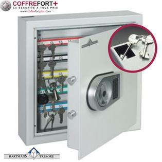 Armoire à clés - Serrure électronique classe 2 VDS - Clés Protect 100