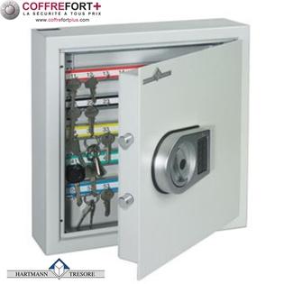 Armoire pour clés - Serrure électronique classe 2 VDS - HARTMANN - Clés Protect 200