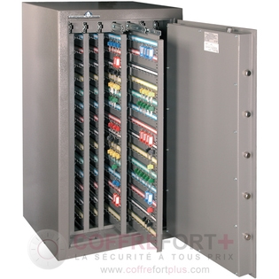 Armoire forte pour clés - Serrure électronique classe 2 VDS - HARTMANN - Clés Protect 1001 CLASSE 1
