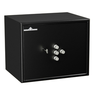 Coffre fort de sécurité - Serrure clé et 4 tubes compteurs - HARTMANN HT30-N2