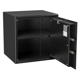 Coffre fort de sécurité - Serrure à clé 4 tubes compteurs - HARTMANN HT50-N2