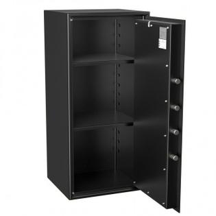 Coffre fort de sécurité - Serrure clé et compteurs - HARTMANN HT135-N2