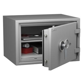 Coffre fort ignifuge 1 heure - Protection Vol et Feu - Serrure à clé A2P - HARTMANN PROTECT DUO PR0054G1 CLASSE 0 (Valeur assurable 8000€)
