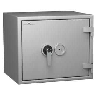 Coffre fort ignifuge 1 heure - Protection Vol et Feu - Serrure à clé A2P - HARTMANN PROTECT DUO PR0066G1 CLASSE 0 (Valeur assurable 8000€)