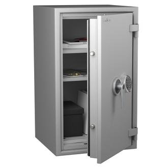 Coffre fort ignifuge 1 heure - Protection Vol et Feu - Serrure électronique classe 2 VDS - HARTMANN PROTECT DUO PR0080G4 CLASSE 0 (Valeur assurable 8000€)