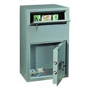 Coffre fort de dépôt de fonds - Serrure à clé - HARTMANN SR0801-G1