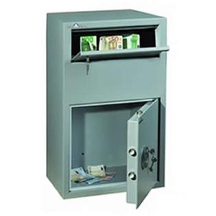 Coffre fort de dépôt de fonds - Serrure électronique - HARTMANN SR0801-G4