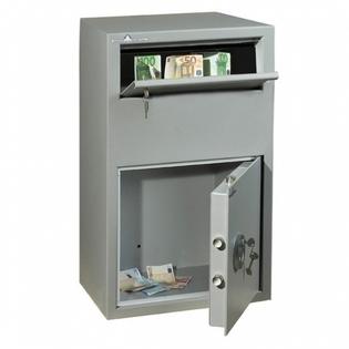 Coffre fort de dépôts de fonds - Serrure à clé - HARTMANN SR800