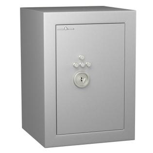 Coffre fort de sécurité anti-feu - Protection Vol et Feu - Serrure à clé + Combinaison 4 tubes compteurs A2P - HARTMANN VULCAIN 60