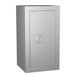 Coffre fort de sécurité anti-feu -  Protection Vol et Feu - Serrure à clé + combinaison 4 tubes compteurs A2P - HARTMANN VULCAIN 80