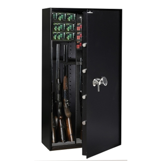 Armoire 14 fusils modulable + coffret interne - Serrure électronique - HARTMANN WT 4030