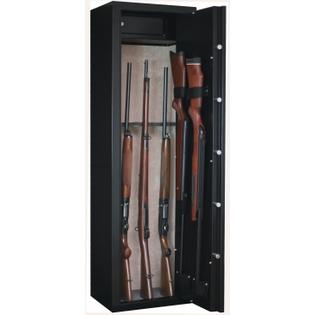 Armoire 10 fusils + coffret interne - Serrure à clé - INFAC SAFE SENTINEL SD10