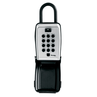 Boite à clés sécurisée à bouton-poussoir avec anse - MASTERLOCK - 5422EURD
