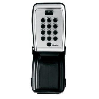 Boite à clés sécurisée à bouton-poussoir - Fixation murale - MASTERLOCK - 5423EURD