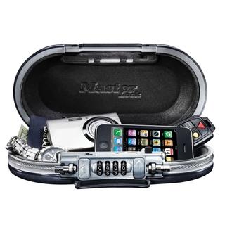 Mini coffre-fort portable avec câble - Noir- MASTERLOCK  - 5900EURD