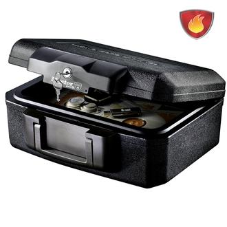 Mallette de Sécurité Anti Feu Ignifugé - Serrure à Clé - Format S - MASTERLOCK - L1200