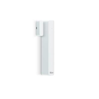 Détecteur magnétique NICE transmission radio bidirectionnelle Dual Band couleur blanc