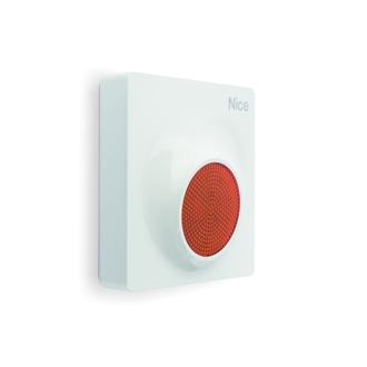 Sirène d'alarme MNSC de NICE filaire extérieur clignotant à LED et fonction vocale