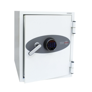 Coffre fort ignifuge supports informatiques - Serrure électronique et biométrique - PHOENIX DATA COMBI DS2501F
