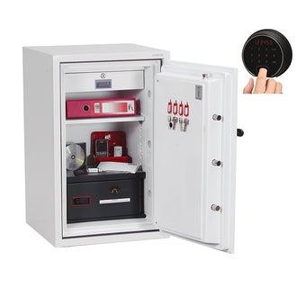 Coffre fort ignifuge supports informatiques - Serrure électronique et biométrique - PHOENIX DATA COMBI DS2502F