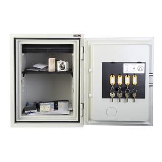 Coffre fort ignifuge - Serrure à clé certifiée A2P KABA MAUER - TECHNOMAX 40-S-NGS