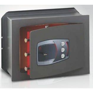 Coffre-fort encastrable serrure à clé et combinaison TECHNOMAX DD/7L