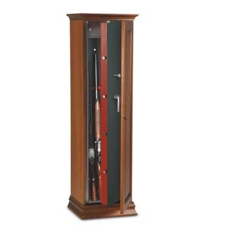 Armoire 10 fusils + coffre interne - Serrure à clé - TECHNOMAX TCH/10L