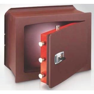 Coffre-fort encastrable serrure à clé double panneton TECHNOMAX UK/4L