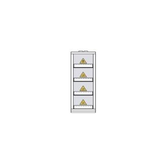 Armoire De Sécurité En 14470-1 90 Minutes - Haute 1 Porte - 4 Compartiments -794+M4