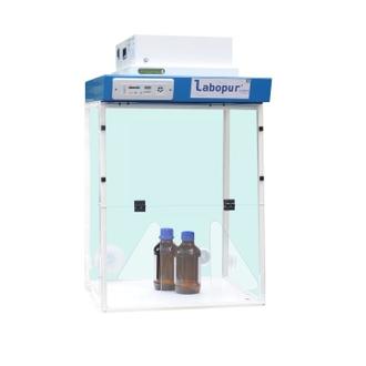 Hotte à filtration H06 + 1 Module de filtration + Passage 2 mains - H061D LABOPUR®