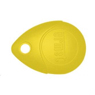 Badge clé de proximité jaune VIGIK URMET - MEMOPROX/J