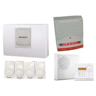 Kit intrusion UMP500/8 + clavier + détecteurs + sirenes URMET - UCUBE3